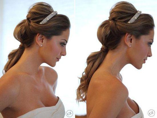 Peinados de novia recogidos. Esta guía de #Peinados recogidos te ayudara a escoger el mejor peinado de todos! Lee la guia completa en http://bodasnovias.com/recogidos-y-peinados-de-novia-con-velo/4267/ #wedding