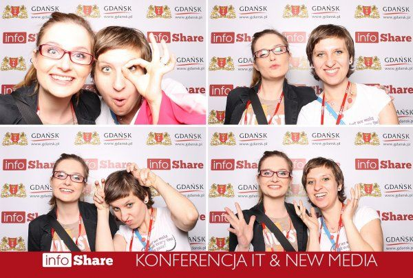 #infoshare #2013 #KasiaG #Ala #fun #photo #marketing #gdansk
