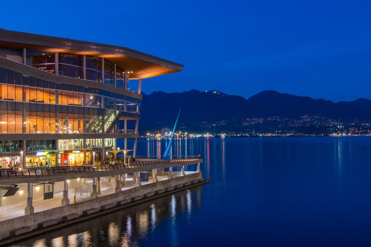Vancouver Convention Centre in Coal Harbour #blurrdMEDIA #architecture #photography