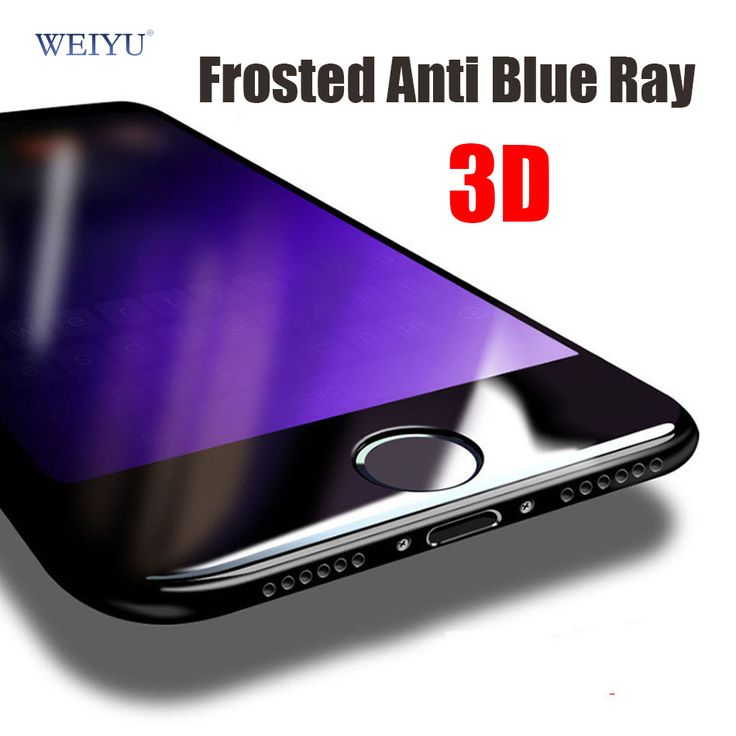 >> Click to Buy << WEIYU Anti Blue Ray 3D full cover Matte Frosted Tempered Glass For iPhone 7/7 Plus screen Protector Eyes Protective film #Affiliate