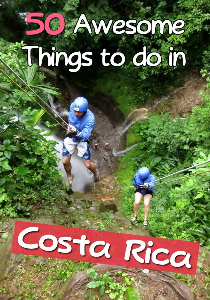 Going to Costa Rica? Here is a list of 50 awesome things to do with a mix of outdoor, adventure, cultural and local activities that are a must for every traveler http://mytanfeet.com/activities/50-activities-things-to-do-in-costa-rica/ via @mytanfeet