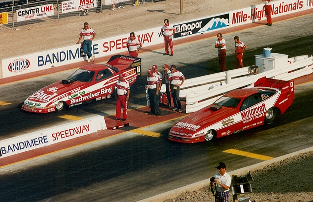 Old School drag racing by Kenny Burnstein...the good old days!