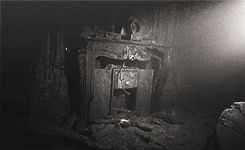 Amazing--the Titanic. The real one. Submerged.