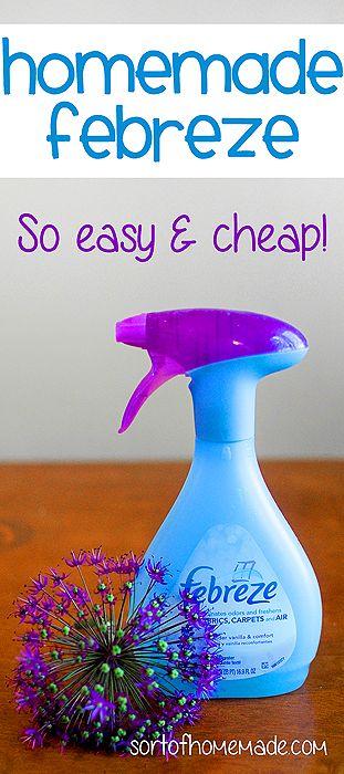 How To Make Homemade Air Freshener Like Febreeze