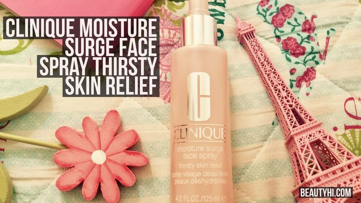 clinique moisture surge face spray how to use