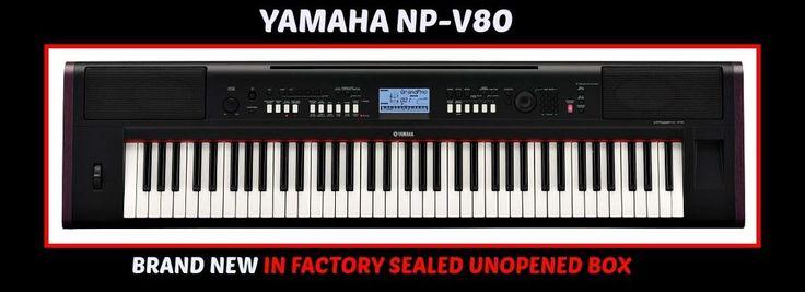 YAMAHA NP-V80 Piaggero76-key Digital Piano BRAND NEW IN SEALED BOX $400 ITEM  #Yamaha