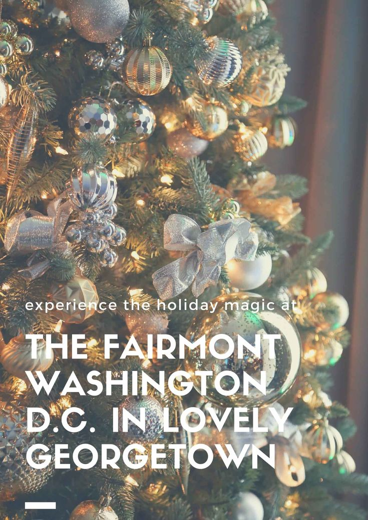 I have a thing for Fairmont hotels. I've visited nearly a dozen over the past decade, from China to Hawaii and everywhere in between, but nothing prepared me for just how magical the Fairmont Washington, D.C. (and the city in general) would be over the holidays. The Fairmont is Washington, D.C.'s Best Christmas Hotel. Cick through to read about our experience at the Fairmont Washington D.C. | Camels and Chocolate #fairmont #washingtondc #holidays #christmas