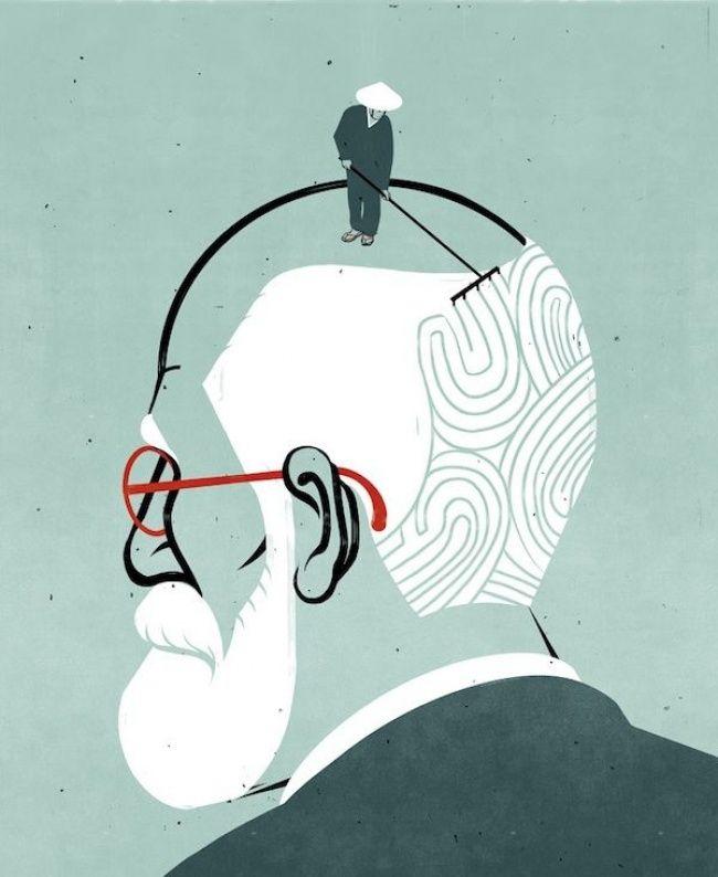 Un guiño al poder de la meditación en la psicología... Autor: Alessandrogottardo