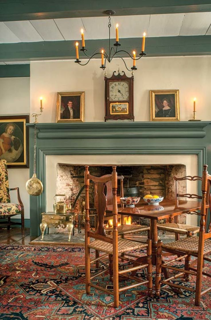 1589 best images about colonial main living rooms and for 18th century farmhouse interiors
