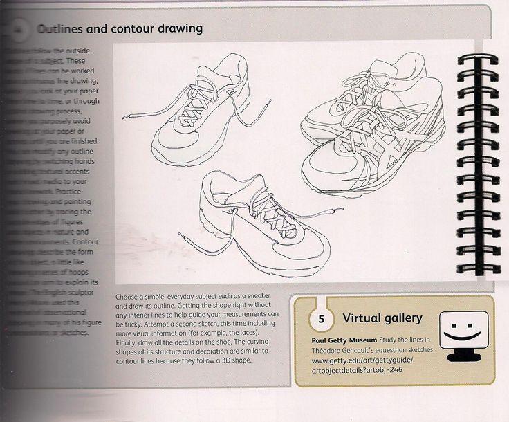 Contour Line Drawing Technique : Best contour line drawing images on pinterest