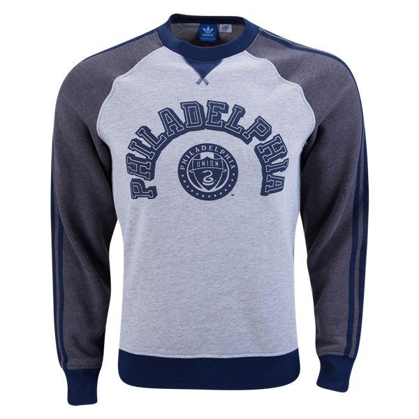 Philadelphia Union Originals Crew Fleece -  Gift ideas for the Philadelphia Union fan WorldSoccershop.com