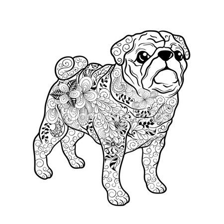Kleurplaat Mopshond 17 Best Mikaylee Images On Pinterest Coloring Books