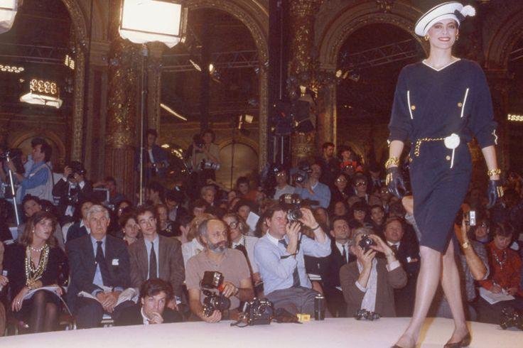 30年前的 Chanel 時裝秀,經典永不過時!