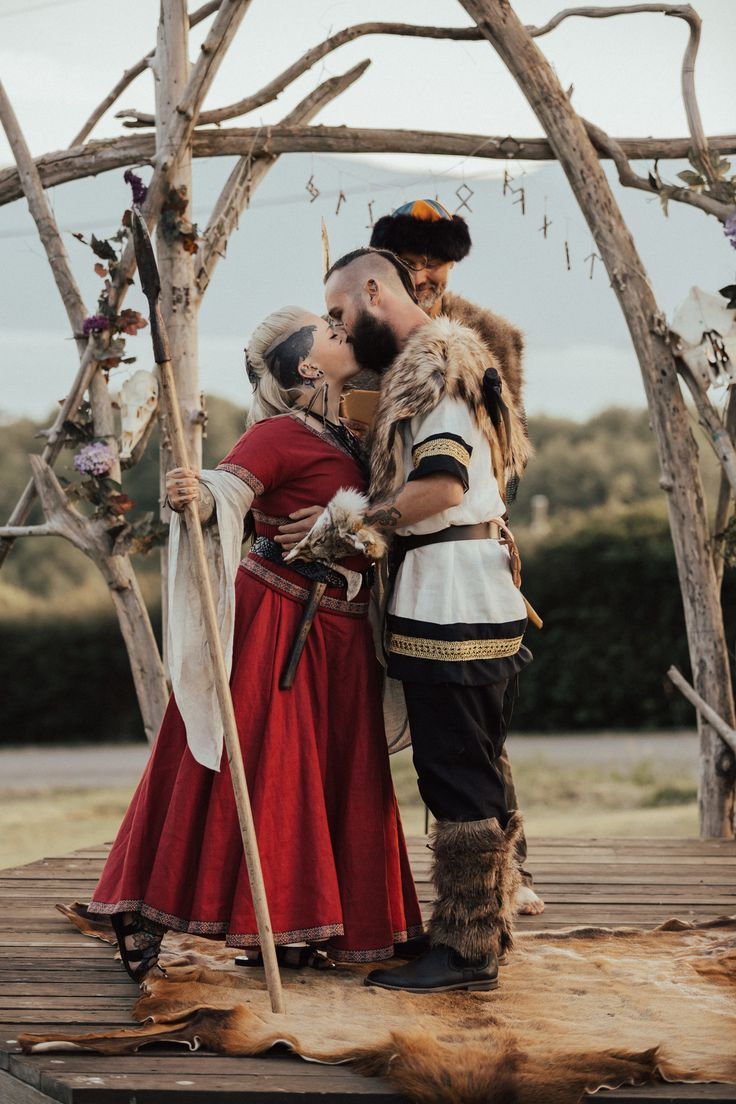 Games of Thrones has nothing on this wedding day! A true Viking wedding complete with weapons, alcohol, and true love. Checkout Danielle and Donovan as they embark on one of lifes greatest adventures, and they do it in style.