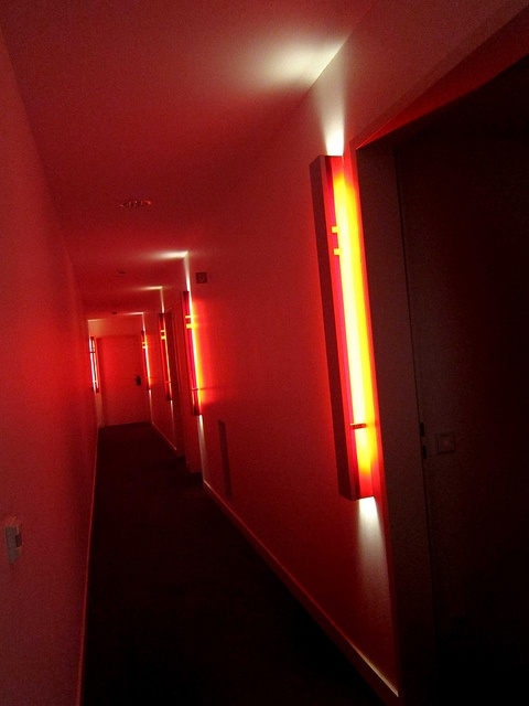 Continuing flow of shapes and spaces - Hotel Q!, #Berlin, #Germany - #luxurydreamhotels