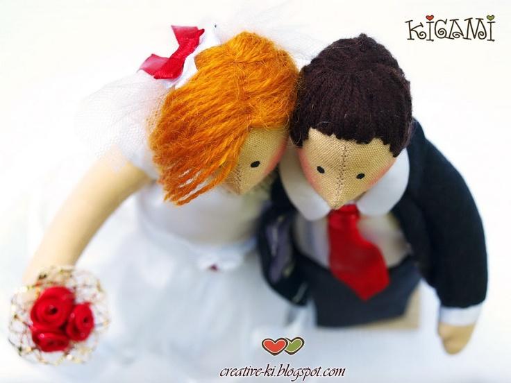Creative-Ki: Свадебные неразлучники/ Wedding Tilda Lovers