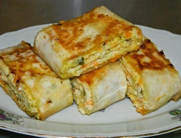Самые вкусные рецепты: Хрустящая закуска из лаваша