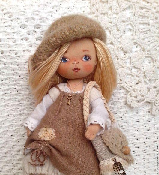 Коллекционные куклы ручной работы. Ярмарка Мастеров - ручная работа. Купить Стефания, текстильная кукла. Handmade. Бохо стиль