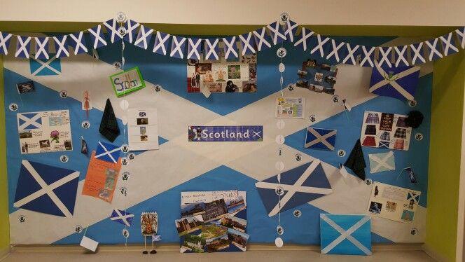 Scotland national day display board