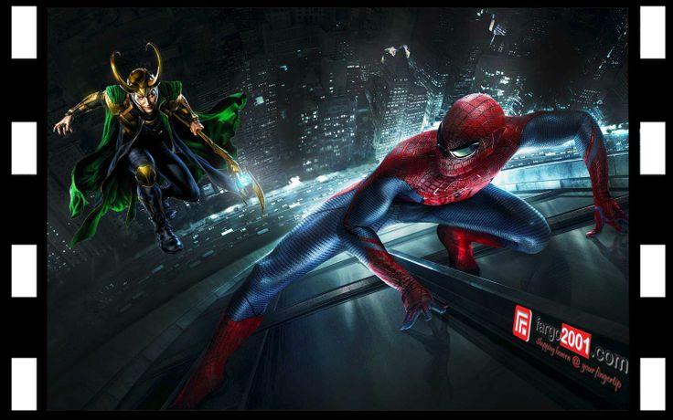 Scene 8: Loki vs Spiderman ! http://fargo2001.com/action-figures-96