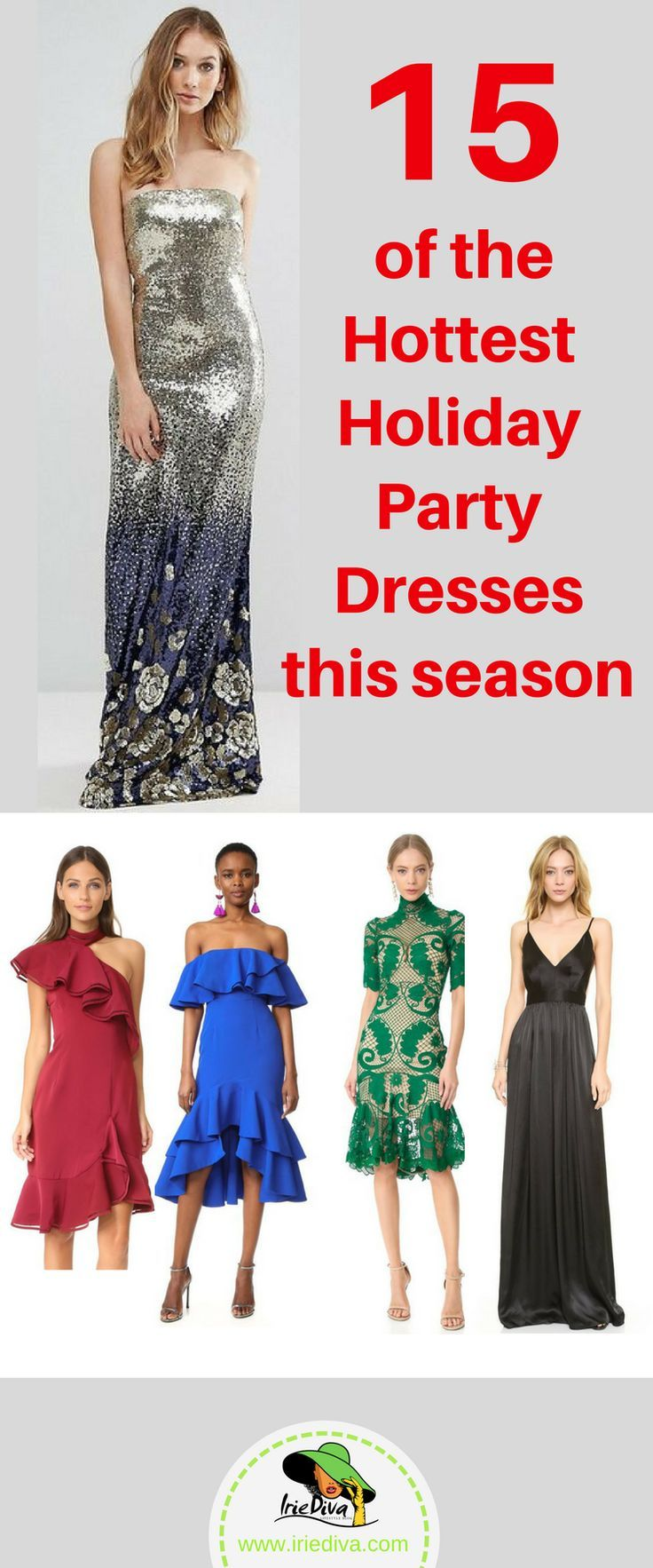 2f86d8150dd These dresses are perfect for the upcoming holiday party season. Sparkly