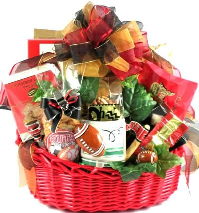 Game Day, Sports Gift Basket