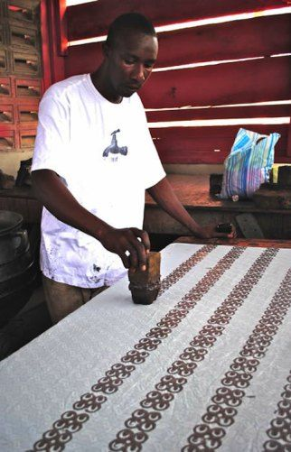 Printing in Adinkra- Kid World Citizen