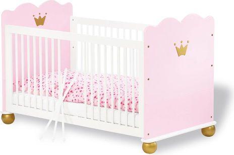 Pinolino Prinzessin Karolin Babybett #Kinderbett #Bett #Krone #Rosa # ...