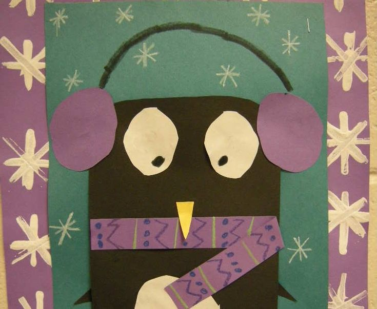 In art class, we studied Antarctica and learned facts about penguins. Afterwards we created these adorable penguins using colorful constru...