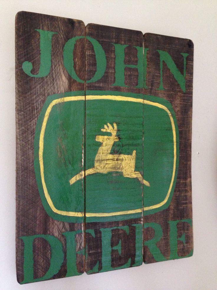 John Deere sign                                                                                                                                                                                 More