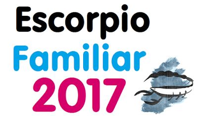 Horóscopo Escorpio 2017 Familiar   Horóscopo Predicciones 2017
