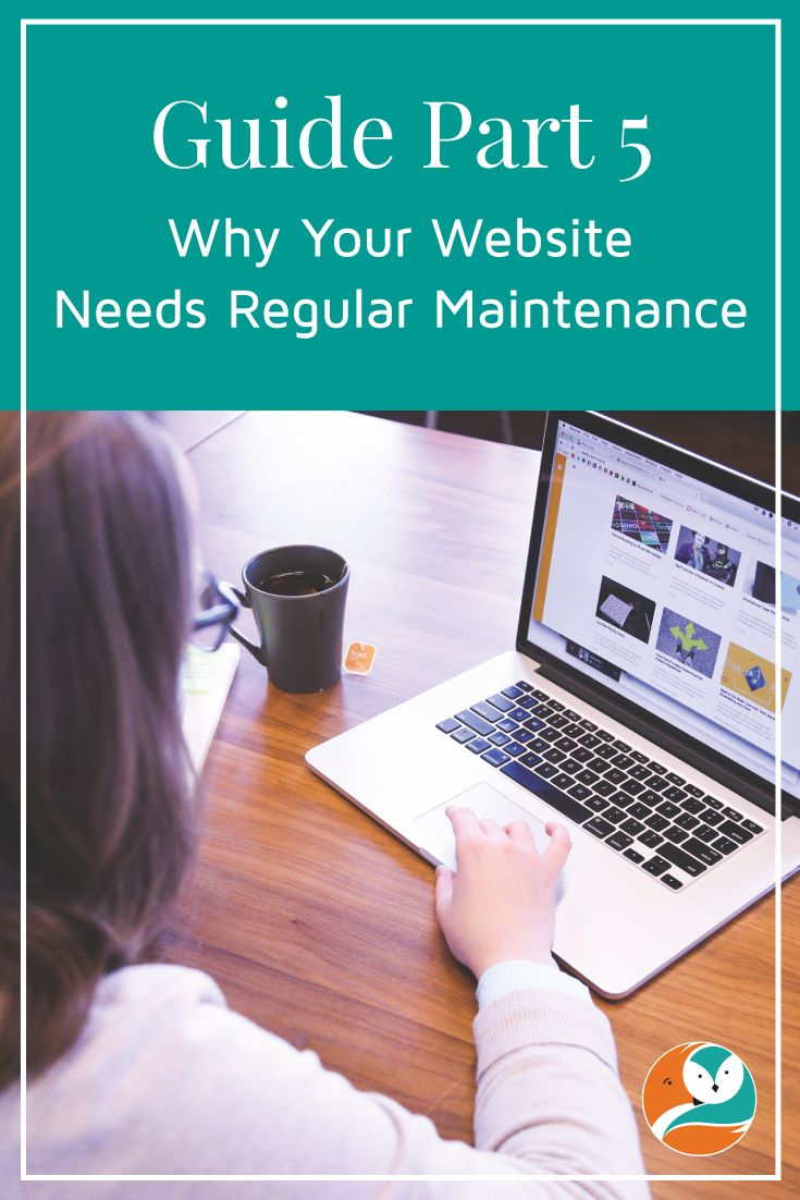 In this post in my website series, I discuss why your website needs regular maintenance.