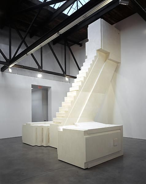 Rachel Whiteread  Untitled (Fire Escape), 2002  Mixed media  289 3/4 x 215 3/8 x 236 3/8 inches