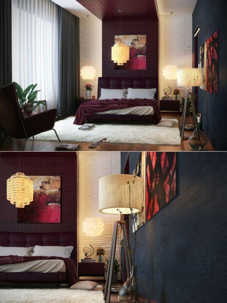 más de 25 ideas increíbles sobre dormitorios negro rojo en