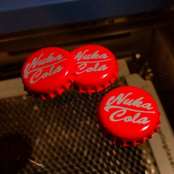 Nuka Cola Bottle Cap by WinterStormDesign on Etsy
