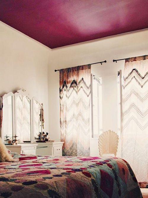 12 techos pintados que llevan el arcoíris a tu casa