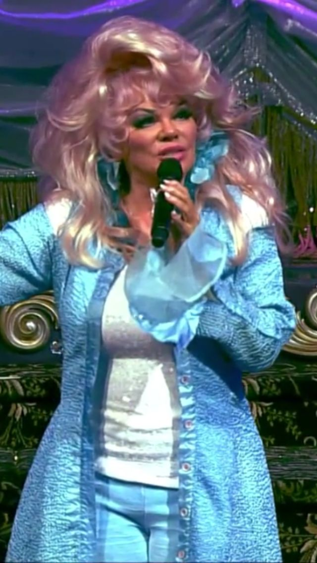 Jan Crouch the diva of the Trinity Broadcasting Network TBN.
