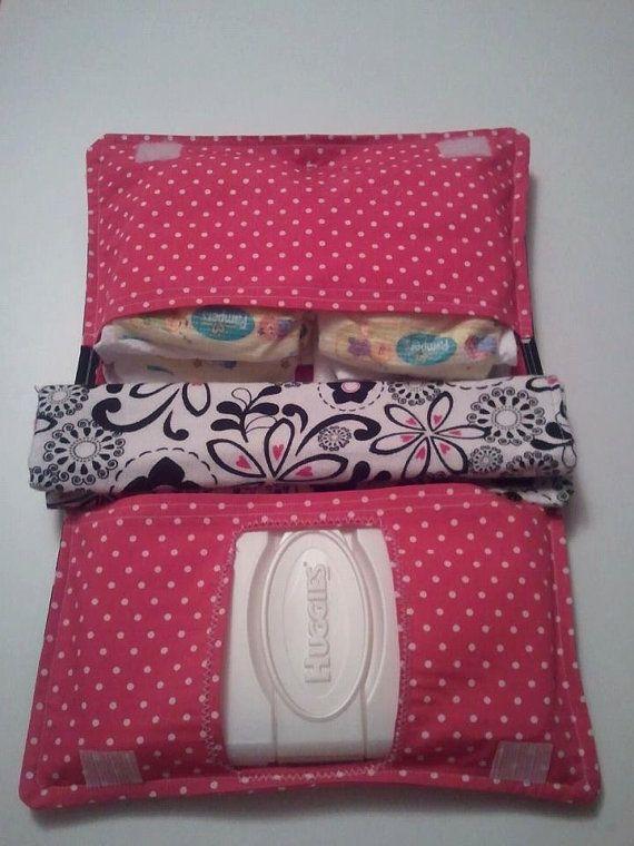 Custom Diaper Clutch