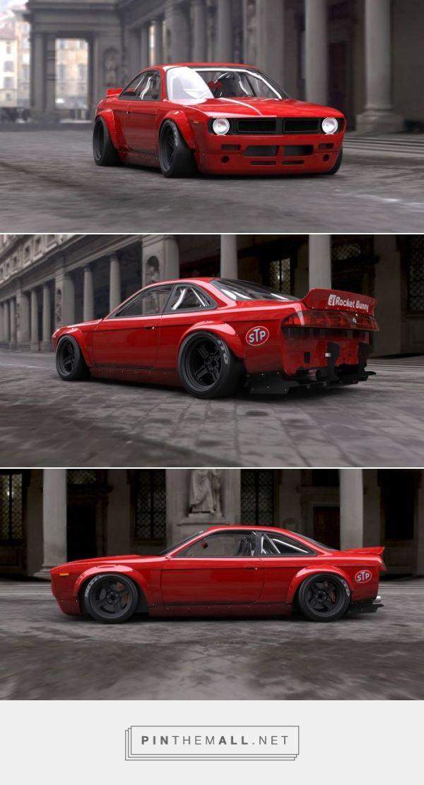 Make Your Nissan 200SX Look Like A Retro Muscle Car With This Awesome Rocket Bunny Body Kit... - a grouped images picture - Pin Them All