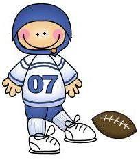 imagen de niño haciendo deporte para imprimir; Imagen de niño jugando al rugby