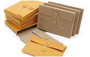 Kraft envelopes