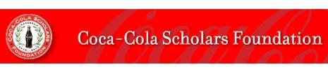 Coca-Cola Scholars Foundation - online applications now open through October 31.