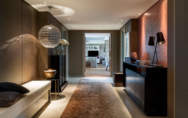 West London Penthouse by @renedekkerdsgn | Best UK Designers. Interiors. Modern Living. | #UKdesign #homedecor #modernhomes | More at: https://brabbu.com/