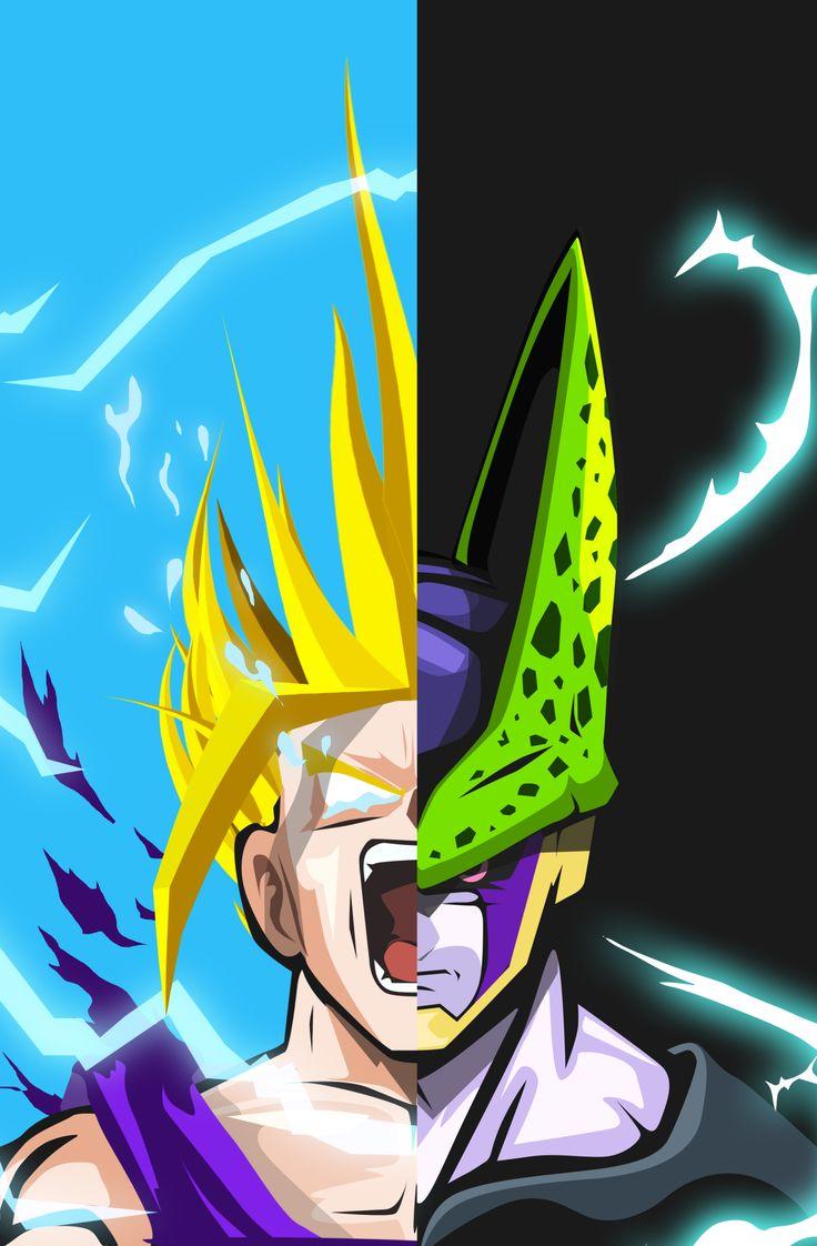 Gohan cell bosslogic inc dragon ball z gt super pinterest posts - Super cell dbz ...