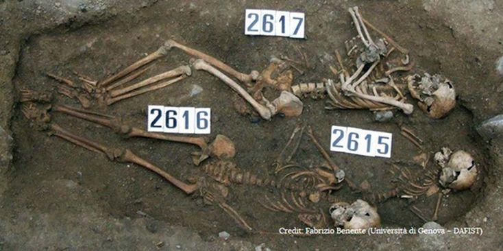 New Details Emerge on the Black #Death by Examining a #Plague #Victim and her Tragic Coffin Birth
