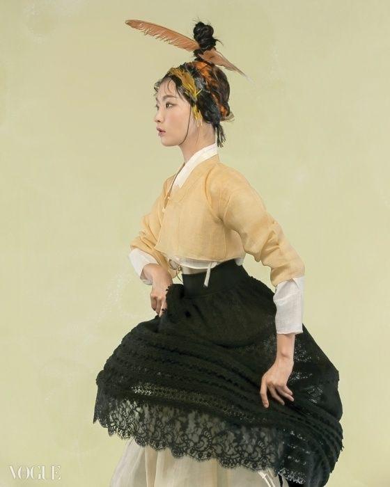 풍성한 달빛을 머금은 한가위, 우리네 아리따운 여인들 - VOGUE.co.kr