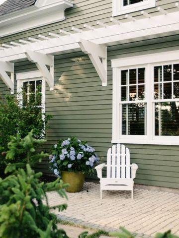 Best Exterior Outdoor Green House Paints Pratt Lambert Olive