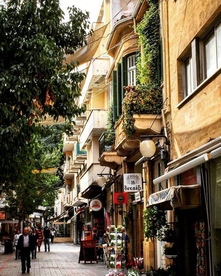 Nicosia old town at Cyprus! Love this city!❤️