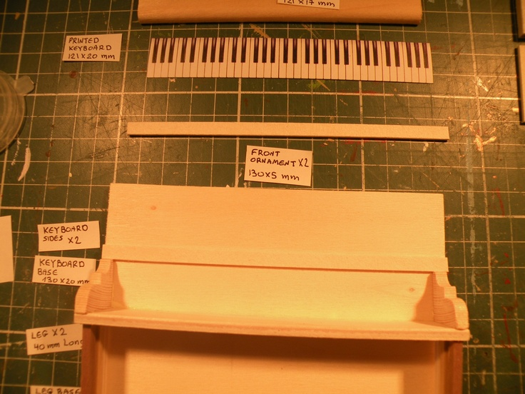 how to make a vertical line keyboard