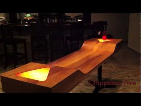 Custom Beer Pong Table by Chippewa Five; a new style of play